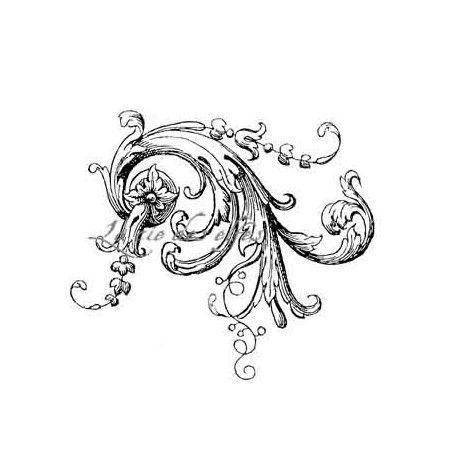 "1 novembre défit "" inspiration "" de scraptyfingers  Motif-floral-baroque-grand-tampon"