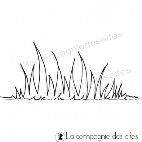 CARTE LIBRE 1/3 Tampon-encreur-herbe