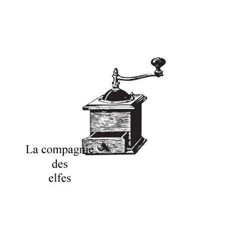 """Pas à pas classeur de recette  """" le matériel """" Moulin-a-cafe-tampon-retro-nm"""