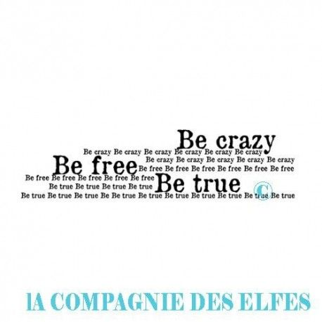 CaroleC vous propose pour ce challenge du scrapbooking day Be-crazy-be-free-tampon-nm-pm