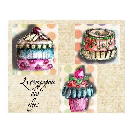 """Pas à pas classeur de recette  """" le matériel """" Les-gourmandises-cupcakes-ref-a"""