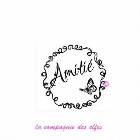 """1 novembre défit """" inspiration """" de scraptyfingers  Tampon-label-amitie-non-monte"""