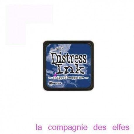 Cartes créatives Août 2019. Mini-encreur-bleu-distress-sapphire