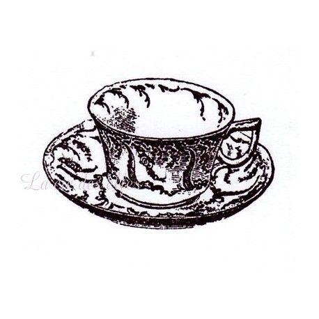"""Pas à pas classeur de recette  """" le matériel """" Tasse-tampon-vintage-nm"""