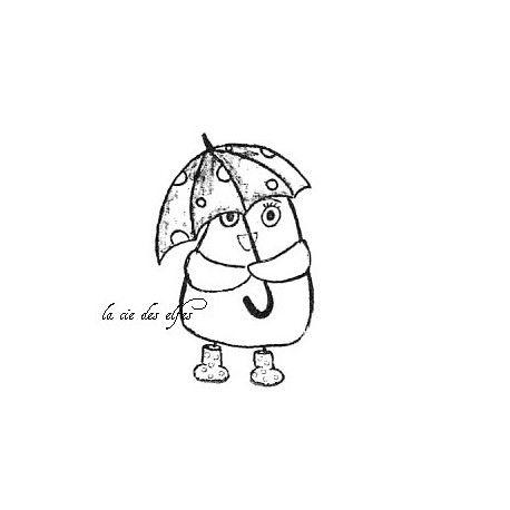 Les cartes d'octobre 2016 Oiseau-parapluie-tampon-nm