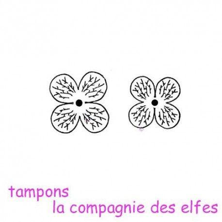 Florina vous propose pour ce challenge du scrapbooking day  Tampon-hortensia-non-montes