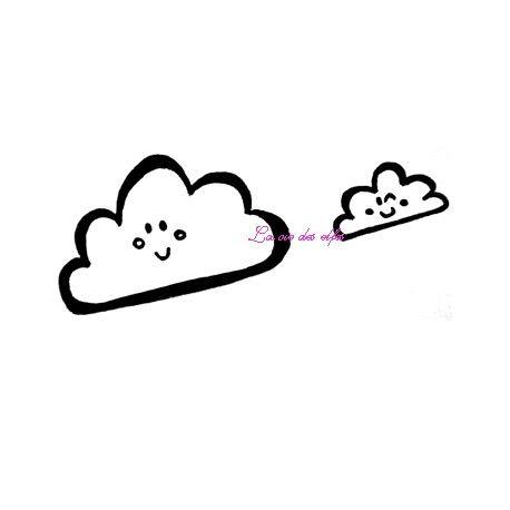 les minis albums d'octobre 2016 Nuages-arc-en-ciel-tampons-nm