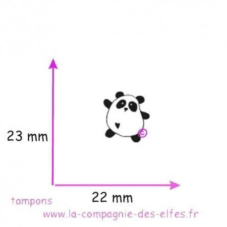 LE CALENDRIER DE L' AVENT  Tampon-kawaii-panda-non-monte
