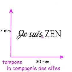 TAMPON Je suis ZEN - nm