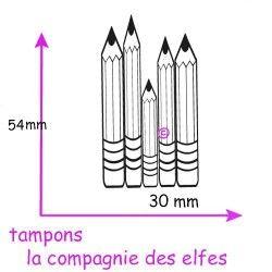 TAMPON crayons - non monté