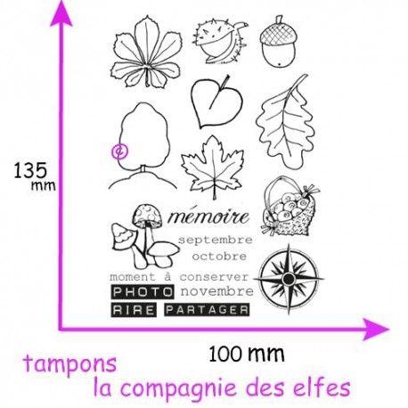 les minis albums d'octobre 2016 Tampons-automne-non-monte