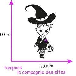 TAMPON Léo halloween  - non monté