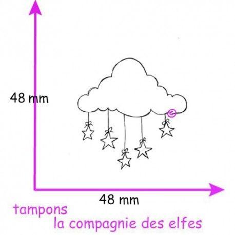 LE CALENDRIER DE L' AVENT  Tampon-nuage-etoiles-nm